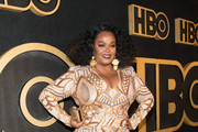 Jill Scott arrives at HBO's Post Emmy Awards Reception at the Plaza at the Pacific Design Center on September 17, 2018 in Los Angeles, California.