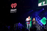 Intern John and Rose from Hot 99.5 speak onstage during HOT 99.5's Jingle Ball 2019 on December 16, 2019 in Washington, DC.