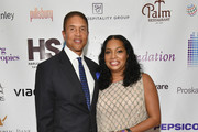 Christopher J. Williams and Vice Chair of HSA Janice Savin Williams attends HSA Masquerade Ball on October 23, 2017 at The Plaza Hotel in New York City.