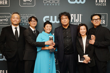 Ha-jun Lee 25th Annual Critics' Choice Awards - Press Room