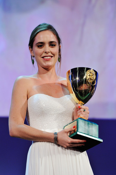 Hadas Yaron Hadas Yaron wins the Coppa Volpi award for best actress during the Award Ceremony at the 69th Venice Film Festival at the Palazzo del Cinema on September 8, 2012 in Venice, Italy.