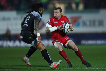 Hadleigh Parkes Scarlets v RC Toulon -  Champions Cup