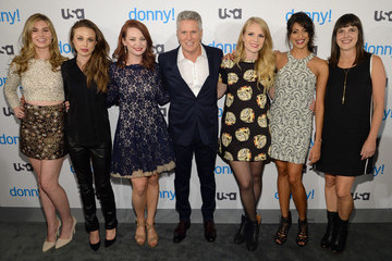 Hailey Giles USA Network Hosts the Premiere of 'Donny!'