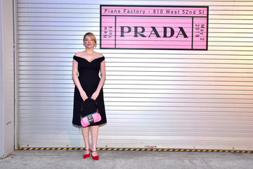 Haley Bennett Prada Resort 2020 Fashion Show