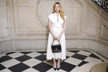 Haley Bennett Dior: Photocall - Paris Fashion Week - Haute Couture Spring/Summer 2020