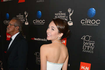 Haley Pullos Arrivals at the 40th Annual Daytime Emmy Awards