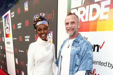 Halima Aden U.S. Premiere Of '5B' At Opening Night Of L.A. Pride