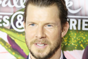 Eric Mabius arrives to the Hallmark Channel and Hallmark Movies and Mysteries Winter 2018 TCA Press Tour held at Tournament House on January 13, 2018 in Pasadena, California.