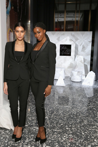 Saks Celebrates New Main Floor With Lupita Nyong'o, Carine Roitfeld And Musical Performance By Halsey