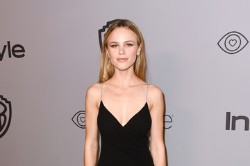 Halston Sage Warner Bros. Pictures And InStyle Host 19th Annual Post-Golden Globes Party - Arrivals