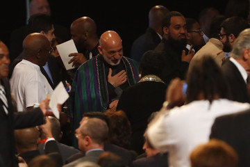 Hamid Karzai Funeral Held For Boxing Legend Muhammad Ali In His Hometown Of Louisville, Kentucky
