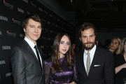 (L-R) Paul Dano, Zoe Kazan and Jamie Dornan attend the Hamilton Behind the Camera Awards presented by Los Angeles Confidential Magazine on November 4, 2018 in Los Angeles, California.