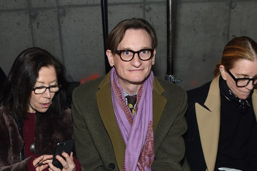 Hamish Bowles Proenza Schouler - Front Row - February 2019 - New York Fashion Week