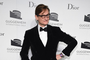 Hamish Bowles Guggenheim International Gala Dinner Made Possible By Dior