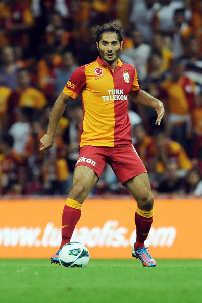 This Photo Hamit Altintop Hamit Altintop Of Galatasaray As In Action