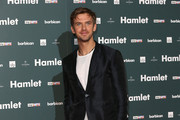 """Dan Stevens attends the press night of """"Hamlet"""" at Barbican Centre on August 25, 2015 in London, England."""
