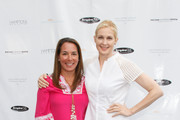 (L-R) Samantha Yanks and Kelly Rutherford attend Hamptons Magazine Celebration of The Children's Justice Campaign Of Joan & George Hornig on August 16, 2014 in Water Mill, New York.