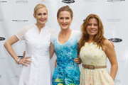 (L-R)  Kelly Rutherford, Wendy Murphy and Patrice Lenowitz attend Hamptons Magazine Celebration of The Children's Justice Campaign Of Joan & George Hornig on August 16, 2014 in Water Mill, New York.