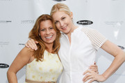 (L-R) Patrice Lenowitz and Kelly Rutherford attend Hamptons Magazine Celebration of The Children's Justice Campaign Of Joan & George Hornig on August 16, 2014 in Water Mill, New York.