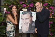 Lynn Scotti and Liev Schreiber attend the Hamptons Magazine Hosts Private Dinner To Celebrate Cover Star Liev Schreiber at Gurney's Inn on June 8, 2019 in Montauk, New York.