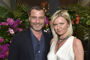 Liev Schreiber, and Anetta Nowosielska attend the Hamptons Magazine Hosts Private Dinner To Celebrate Cover Star Liev Schreiber at Gurney's Inn on June 8, 2019 in Montauk, New York.
