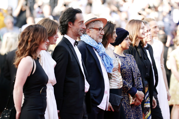 Closing Ceremony Red Carpet - The 72nd Annual Cannes Film Festival [event,street fashion,fashion,crowd,white-collar worker,suit,premiere,l-r,it must be heaven,the 72nd annual cannes film festival,closing ceremony screening,hanaa issa,fatma hassan al remaihi,elia suleiman,yasmine hamdan,edouard weil,serge noel]