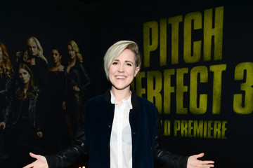 Hannah Hart Premiere of Universal Pictures' 'Pitch Perfect 3' - Red Carpet