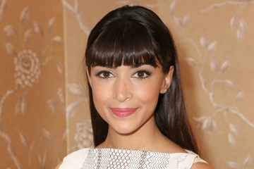 Hannah Simone Vogue And Tory Burch Celebrate The Tory Burch Watch Collection