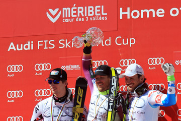 Hannes Reichelt Kjetil Jansrud Audi FIS Alpine Ski World Cup: Men's Downhill