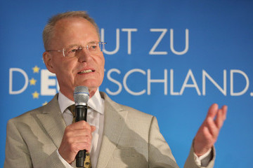 Hans-Olaf Henkel Germany Goes To The Polls In EU Parliamentary Elections