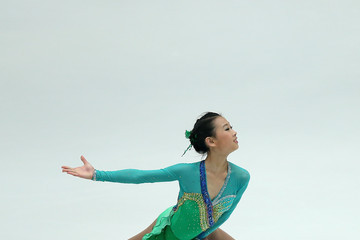 Hao Zhang ISU Grand Prix of Figure Skating Lexus Cup: Day 1