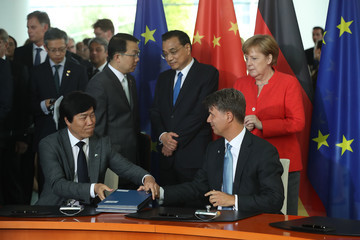 Harald Krueger Germany And China Hold Government Consultations