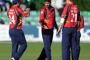Harbhajan Singh Worcestershire v Essex - Clydesdale Bank Pro40