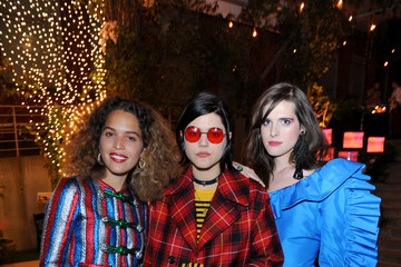 Hari Nef Gucci Bloom, Fragrance Launch Event at MoMA PS1 in New York