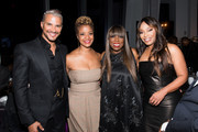 Jay Manuel, Brandice Henderson, Mikki Taylor, and Connie Orlando attend Harlem Fashion Row at One World Trade Center on September 05, 2019 in New York City.
