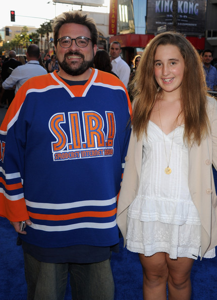 in this photo kevin smith harley quinn smith director kevin smithKevin Smith Daughter