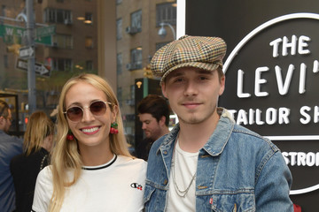Harley Viera-Newton Levi's Tailor Shop Launch Event At Nordstrom Men's Store NYC Hosted By Brooklyn Beckham