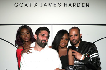 Harold Hadnott GOAT and James Harden Celebrate NBA All-Star Weekend 2018 - Inside