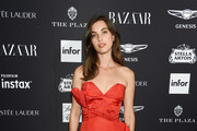 "Rainey Qualley attends as Harper's BAZAAR Celebrates ""ICONS By Carine Roitfeld"" at the Plaza Hotel on September 7, 2018 in New York City."