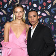 Natasha Poly and Olivier Rousteing Photos