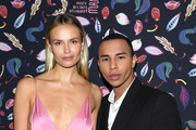 Natasha Poly and Olivier Rousteing Photos Photo