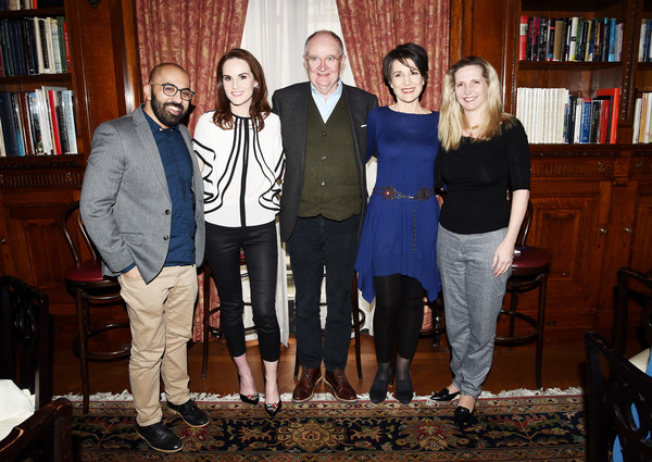 'The Sense of an Ending' Lunch & Q and A [social group,event,fun,family,the sense of an ending,q,the lotus club,new york city,ritesh batra,amanda foreman,harriet walter,michelle dockery,jim boardbent]