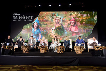 Harris Dickinson Global Press Conference For Disney's 'Maleficent:  Mistress of Evil'