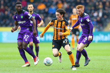 Harrison Reed Hull City v Norwich City - Sky Bet Championship