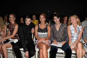 Harry Brant Giambattista Valli : Front Row - Paris Fashion Week - Haute Couture Fall/Winter 2015/2016