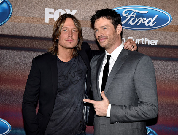 'American Idol XIV' Finalist Party [event,premiere,suit,white-collar worker,party - arrivals,keith urban,harry connick jr.,american idol xiv,california,los angeles,the district,fox,l,finalist party]