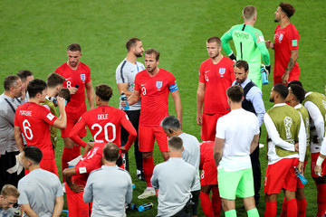 Harry Kane Dele Alli Colombia vs. England: Round of 16 - 2018 FIFA World Cup Russia