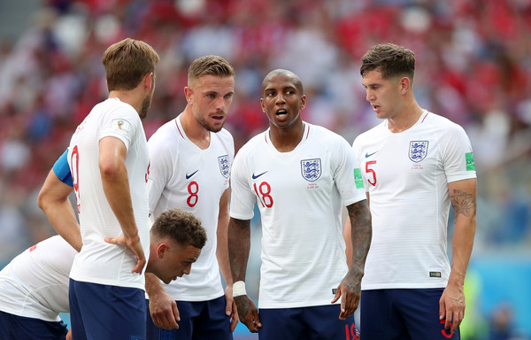 England vs. Panama: Group G - 2018 FIFA World Cup Russia [team,player,team sport,sports,championship,ball game,stadium,competition event,tournament,international rules football,harry kane,john stones,ashley young,jordan henderson,kieran trippier,russia,nizhny novgorod stadium,england,group,panama: group g - 2018 fifa world cup]
