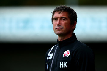 Harry Kewell Crawley Town v Brighton & Hove Albion - Pre Season Friendly