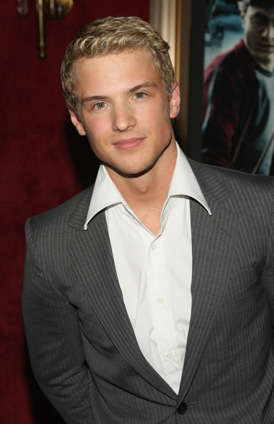 "Freddie Stroma Actor Freddie Stroma attends the ""Harry Potter and the Half-Blood Prince"" premiere at Ziegfeld Theatre on July 9, 2009 in New York City."